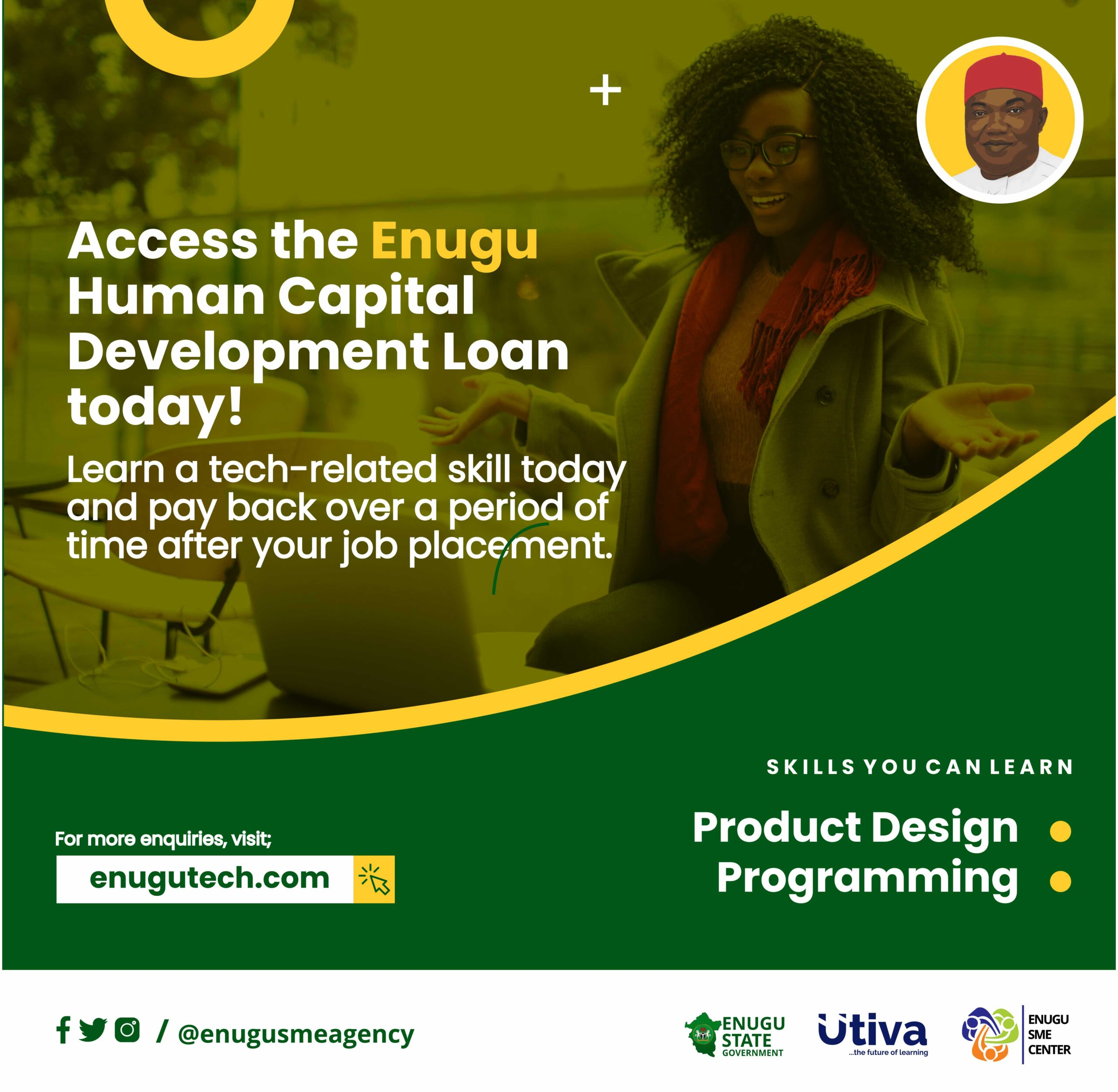 Enugusmeagency in partnership with Utiva introduces the 2nd batch of the Enugu Tech Program