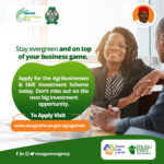 Get a loan of N3 – N10 million naira payable in 7 years with Zero collateral – AGSMEIS Loan Program