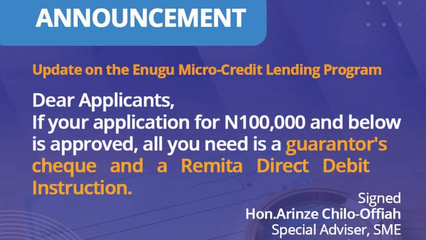 Micro-Credit Lending Program